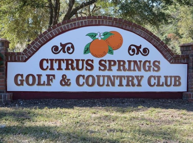 Citrus Springs Golf & Country Club, Citrus Springs, Florida,  - Golf Course Photo