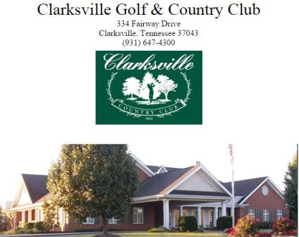 Clarksville Golf & Country Club,Clarksville, Tennessee,  - Golf Course Photo