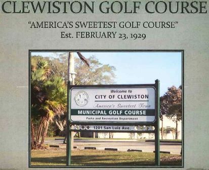 Clewiston Golf Course,Clewiston, Florida,  - Golf Course Photo