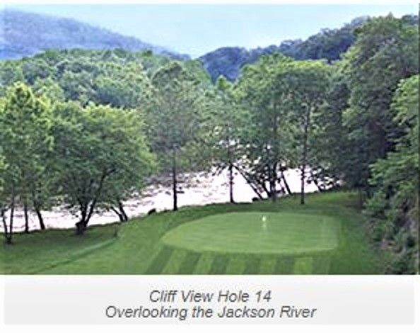 Cliff View Golf Club, Covington, Virginia,  - Golf Course Photo