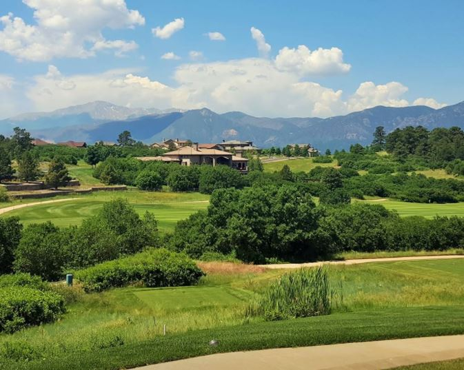 The Club at Flying Horse, Flying Horse Golf Course, Colorado Springs, Colorado,  - Golf Course Photo