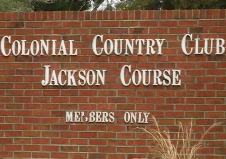Golf Course Photo, Colonial Country Club, Jackson Course, Closed 2014, Jackson, 39211