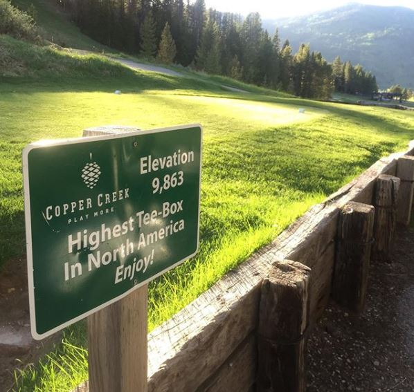 Copper Creek Golf Club, Copper Mountain, Colorado,  - Golf Course Photo