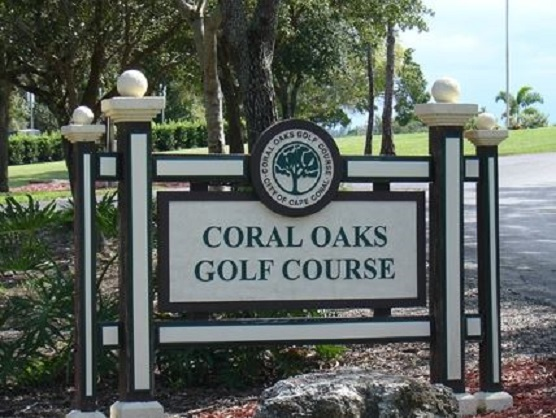 Coral Oaks Golf Course, Cape Coral, Florida,  - Golf Course Photo