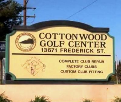 Cottonwood Golf Center | Cottonwood Golf Course