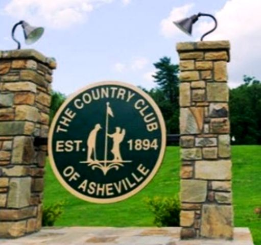 Country Club Of Asheville,Asheville, North Carolina,  - Golf Course Photo