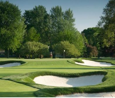 Country Club Of Detroit, Championship Golf Course, Grosse Pointe Farms, Michigan, 48236 - Golf Course Photo