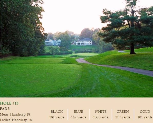 Country Club Of Fairfax, Fairfax, Virginia,  - Golf Course Photo