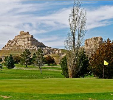 Court House & Jail Rock Golf Course,Bridgeport, Nebraska,  - Golf Course Photo