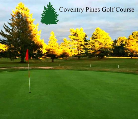 Coventry Pines Public Golf Course, Coventry, Rhode Island, 02816 - Golf Course Photo