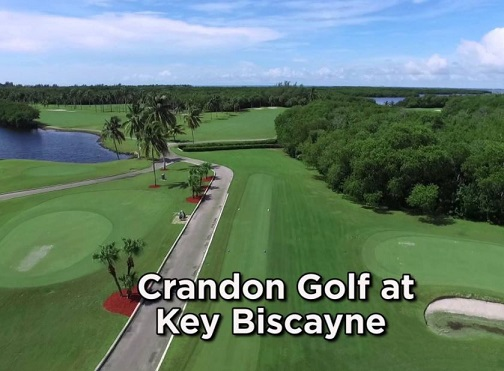 Crandon Park Golf Course, Key Biscayne, Florida,  - Golf Course Photo