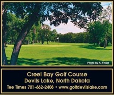 Creel Bay Golf Course, Devils Lake, North Dakota,  - Golf Course Photo