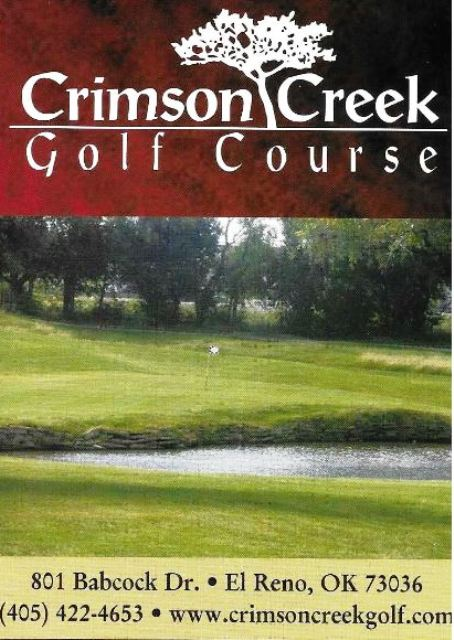 Crimson Creek Golf Club, El Reno, Oklahoma, 73036 - Golf Course Photo