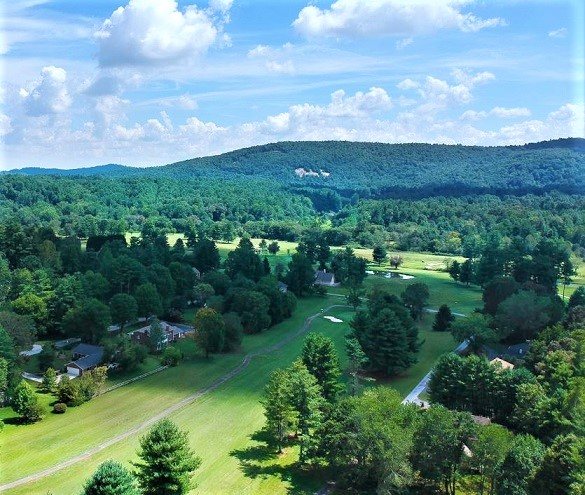 Golf Course Photo, Crooked Creek Golf Club, Hendersonville, North Carolina, 28739
