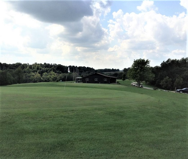 Golf Course Photo, Crooked Knee Golf Course, CLOSED 2013, Henry, Illinois, 61537