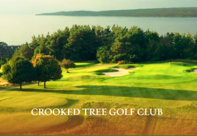 Golf Course Photo, Crooked Tree Golf Club, Petoskey, Michigan, 49770