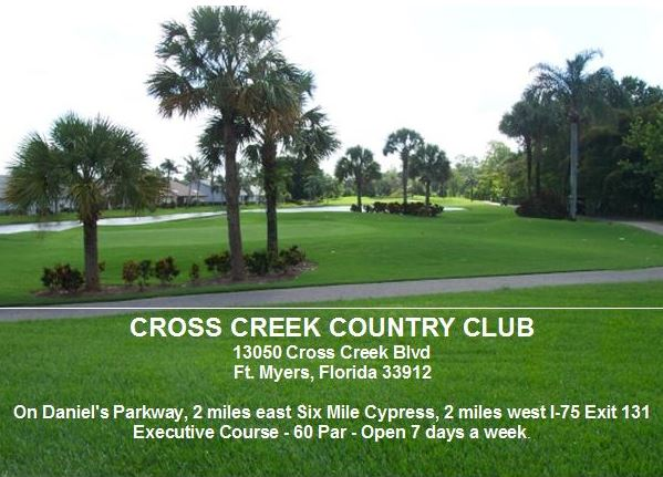 Golf Course Photo, Cross Creek Country Club, Fort Myers, 33912