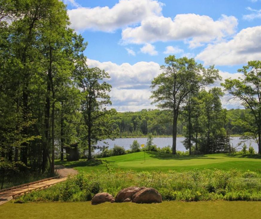 Crosswoods Golf Course, Crosslake, Minnesota,  - Golf Course Photo