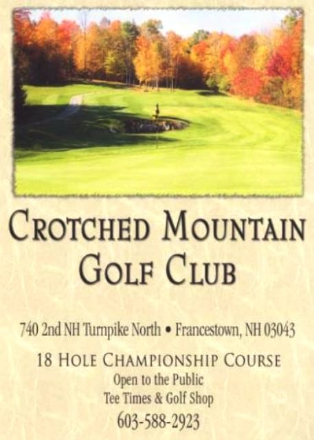 Crotched Mountain Golf Club | Crotched Mountain Golf Course