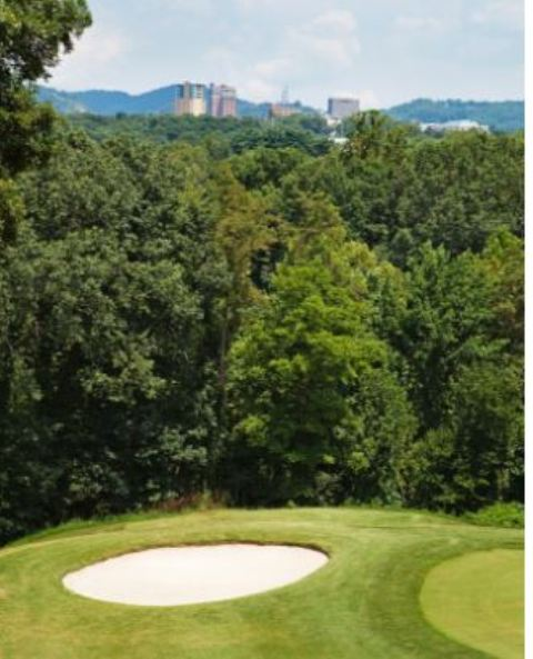 Crown Plaza Golf Course Asheville