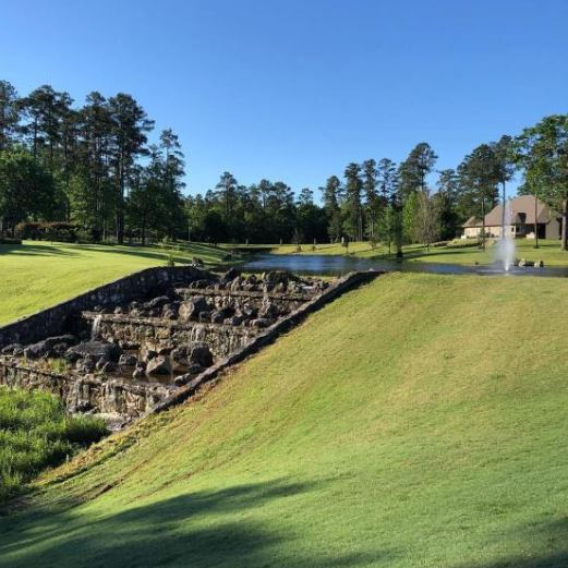 Golf Course Photo, Crown Colony Country Club, Lufkin, Texas, 75901