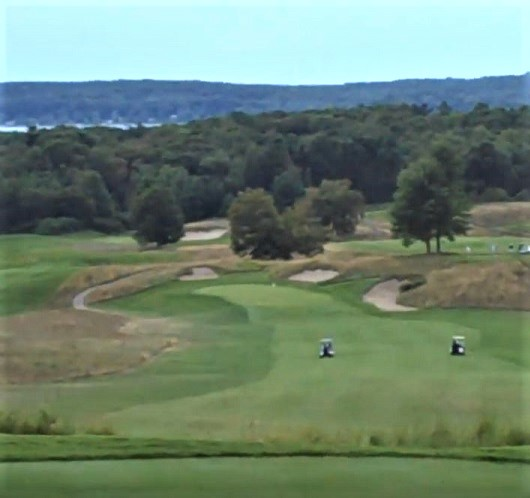 Golf Course Photo, Crystal Downs Country Club, Frankfort, Michigan, 49635