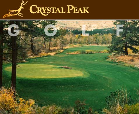 Crystal Peak Golf Course, CLOSED 2010, Verdi, Nevada,  - Golf Course Photo