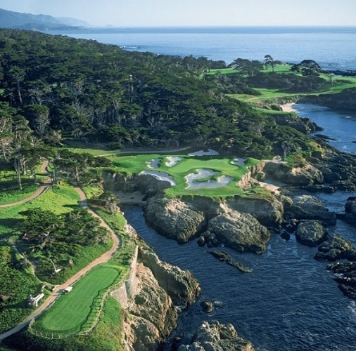 Golf Course Photo, Cypress Point Club, Pebble Beach, California, 93953