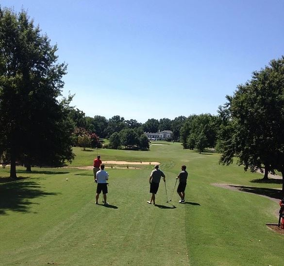 Golf Course Photo, Danville Golf Club, Danville, Virginia, 24541