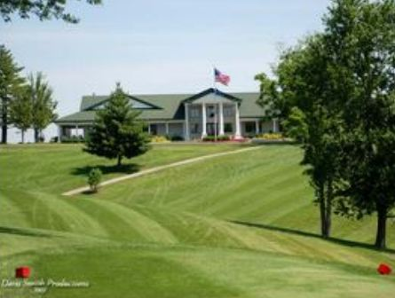 Golf Course Photo, Dearborn Country Club, Aurora, 47001