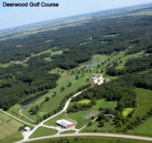 Golf Course Photo, Deerwood Golf Club, New London, Iowa, 52645