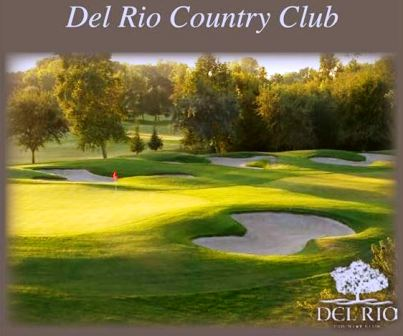 Golf Course Photo, Del Rio Country Club, Modesto, 95356