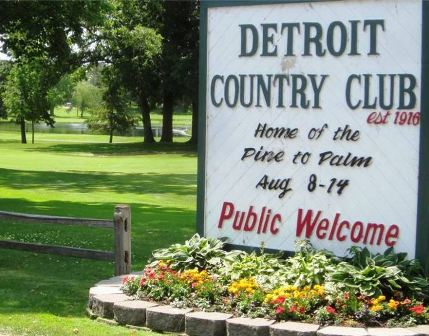 Golf Course Photo, Detroit Country Club, Pine to Palm Course, Detroit Lakes, 56501