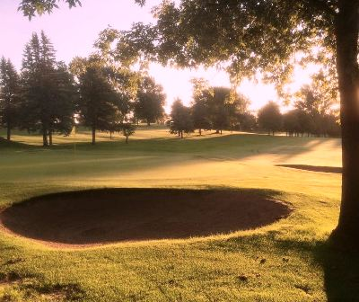 Golf Course Photo, Detroit Country Club, Lakeview Course, Detroit Lakes, 56501