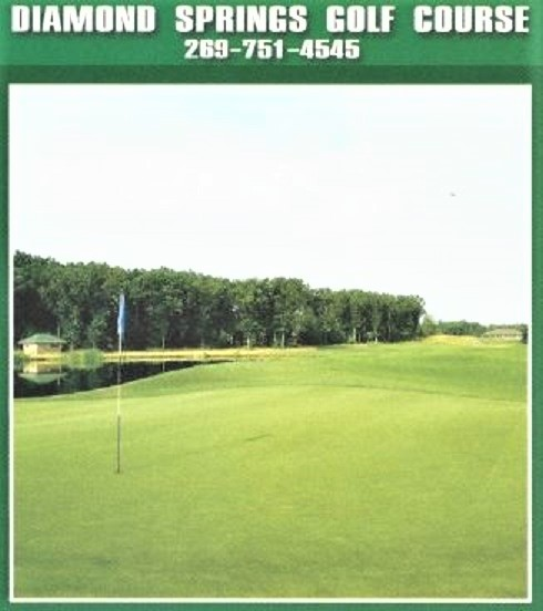 Golf Course Photo, Diamond Springs Golf Course, Hamilton, 49419