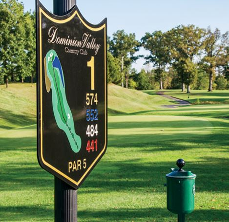 Golf Course Photo, Dominion Valley Country Club, Haymarket, 20169