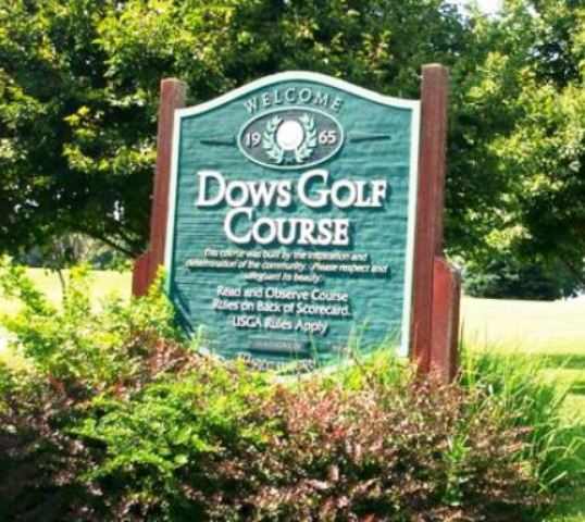 Dows Golf Course, Dows, Iowa,  - Golf Course Photo