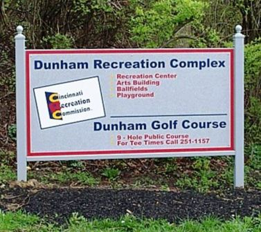 Dunham Golf Course, CLOSED 2012,Cincinnati, Ohio,  - Golf Course Photo