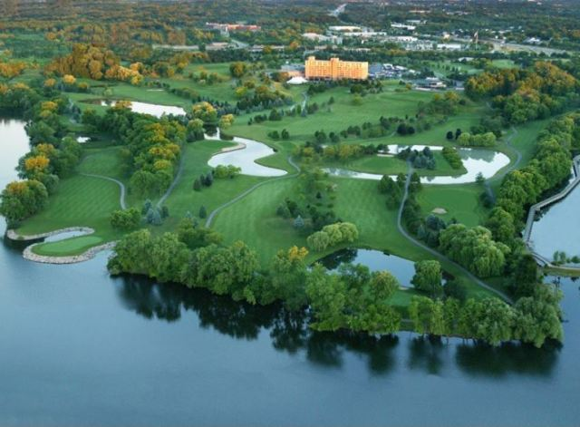 Eagle Crest Golf Club,Ypsilanti, Michigan,  - Golf Course Photo