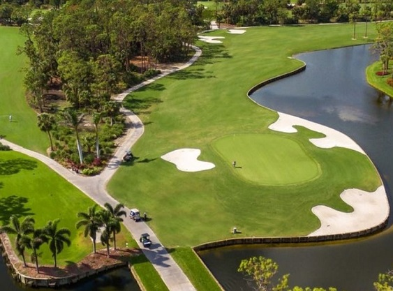Eagle Creek Country Club, Naples, Florida,  - Golf Course Photo