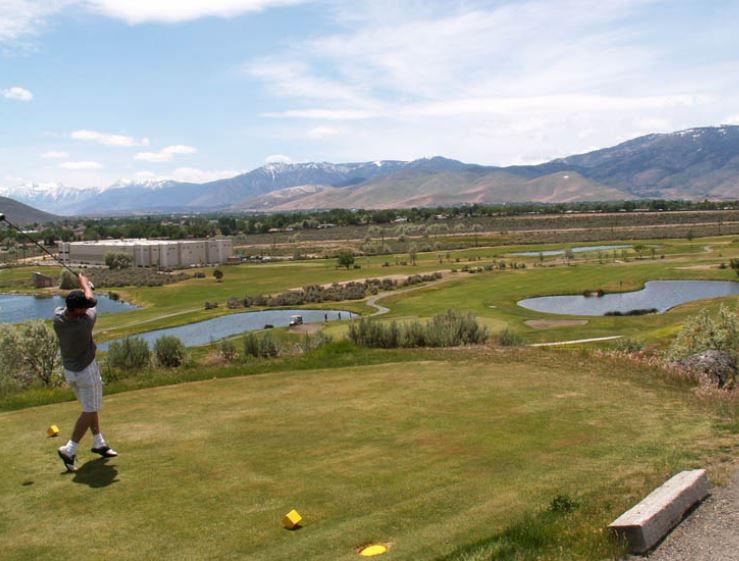 Golf Course Photo, Eagle Valley Golf Course, West Course, Carson City, 89706