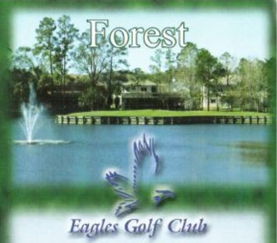 Golf Course Photo, Eagles Golf Club, Forest Golf Course, Odessa, 33556