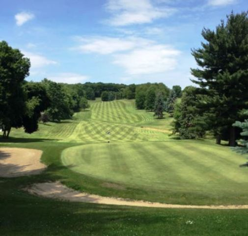 Golf Course Photo, East Liverpool Country Club, East Liverpool, Ohio, 43920