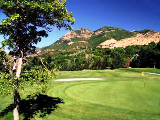 El Monte Golf Course, Ogden, Utah,  - Golf Course Photo