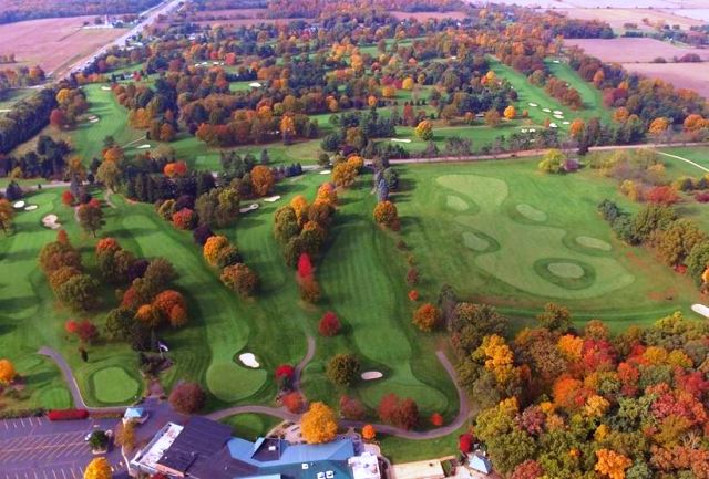 Elcona Country Club, Elkhart, Indiana,  - Golf Course Photo