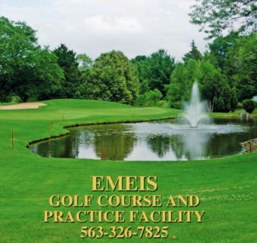 Golf Course Photo, Emeis Municipal Golf Course, Davenport, Iowa, 52804