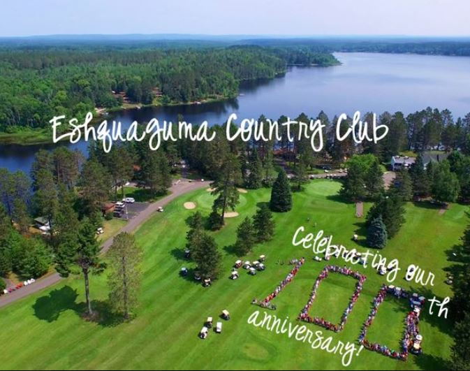 Golf Course Photo, Eshquaguma Country Club | Eshquaguma Golf Course, Gilbert, Minnesota, 55741