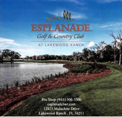 Golf Course Photo, Esplanade Golf & Country Club, Lakewood Ranch, 34211
