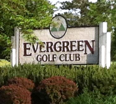 Golf Course Photo, Evergreen Golf Club, CLOSED 2011, Amherst, 14228