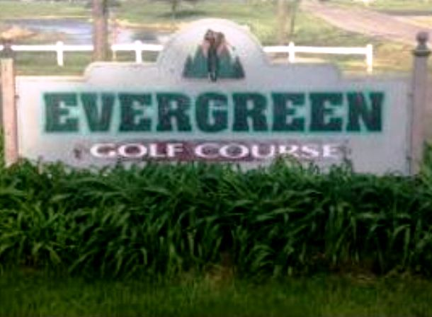 Evergreen Golf Course,Hudson, Michigan,  - Golf Course Photo